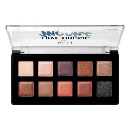 NYX PROFESSIONAL MAKEUP Love You So Mochi Eyeshadow Palette Shade 02