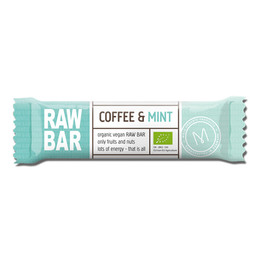 Mols Organic Raw Bar Coffee & Mint  Øko 45 gr.