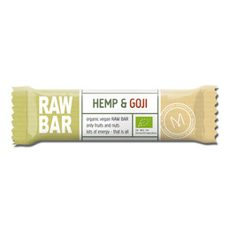 Mols Organic Raw Bar Hemp & Goji  Øko 45 gr.