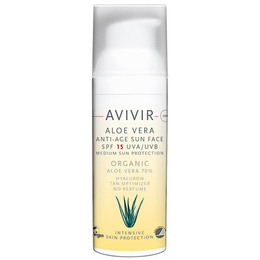 AVIVIR Aloe Vera Anti-Age Sun Face SPF 15 50 ml
