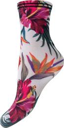 Luxury by Laze soklet kort, flowers str. 37-41