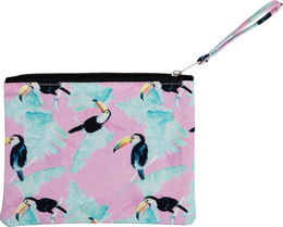 Luxury by Laze makeup-pung lille m print toucan