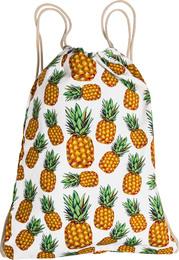 Luxury by Laze rygsæk m print pineapple