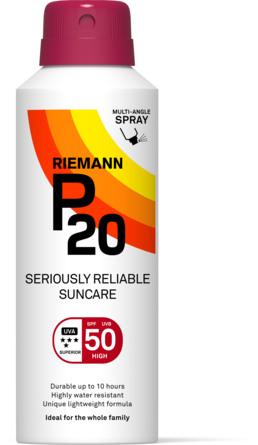 P20 Riemann Continuing Spray SPF 50 150 ml