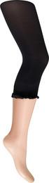 Laze Capri leggings blondekant sort L/XL