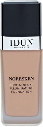 IDUN Minerals Liquid Mineral Foundation Norrsken Sigrid