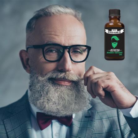 Wahl Skæg Olie Refresh 30 ml