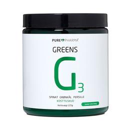 Greens G3 - Lemon Lime 225 g