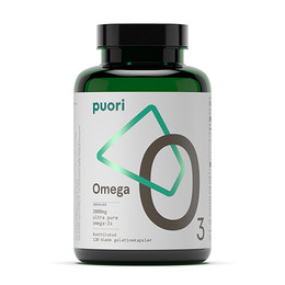 Omega-3 O3 Puori 120 kapsler