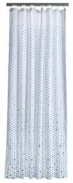 Zone Badeforhæng - Hvid/blå