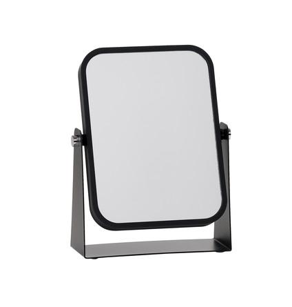 Zone Bordspejl sort - 3 x forstørrelse