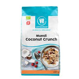 Urtekram Mysli coconut crunch Øko  450 gr.