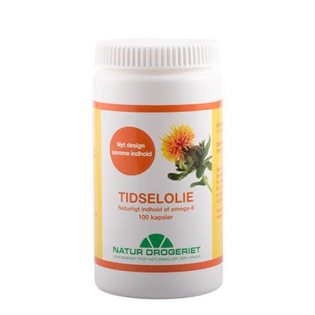 Natur Drogeriet Tidselolie 500 mg 100 kapsler