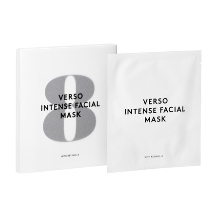 VERSO No. 8 Intense Facial Mask 4 stk.