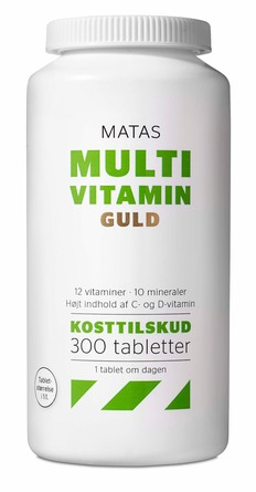 multivitaminer og mineraler med høj styrke