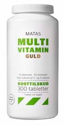 Matas Striber Matas Multivitamin Guld 300 tabl. 300 tabl.