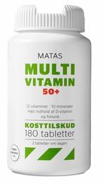 Matas Striber Matas Multivitamin 50+ 180 tabl. 180 tabl.
