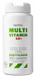 Matas Striber Matas Multivitamin 50+ 300 tabl.