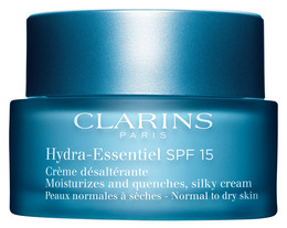 Clarins Hydra-Essentiel SPF15 Cream Normal-Dry skin, 50 Ml