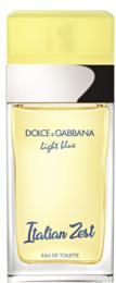 Dolce & Gabbana Light Blue Italian Zest Eau De Toilette 75 Ml