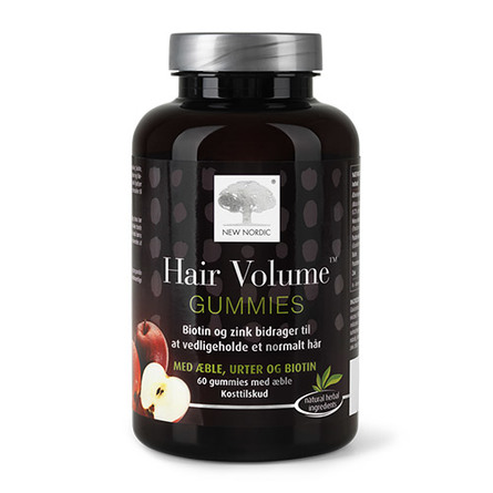 New Nordic Hair Volume Gummies 60 stk.