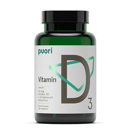 Vitamin D3 kokosolie Puori 120 kap