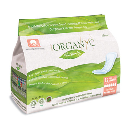 Organyc Efterfødselsbind 12 stk.