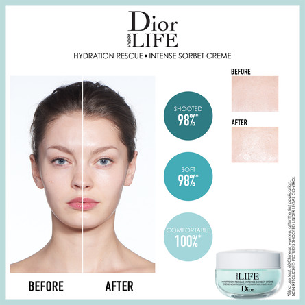 DIOR HYDRA LIFE HYDRATION RESCUE INTENSE SORBET CR 50 ML