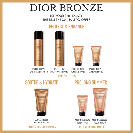 DIOR BRONZE AFTER-SUN CARE - ULTRA FRESH MONOÏ BAL 150 ML