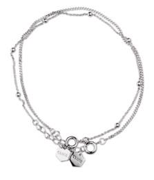 Cluse Essentielle Silver Set of Two Fine Bracelets
