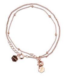 Cluse Essentielle Rose Gold Set of Two Fine Bracelets