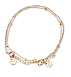 Cluse Essentielle Gold Set of Two Fine Bracelets