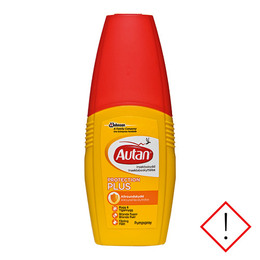Autan Protection Plus Pumpespray mod myg 100 ml