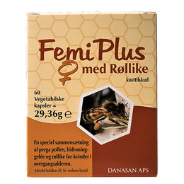 Femi Plus m. røllike vege. 60 kap