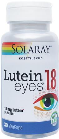 Solaray Lutein EYES 18 mg 30 kapsler