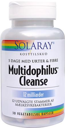 Solaray Multidophilus Cleanse 30 kap.