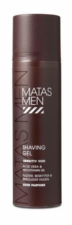 Matas Striber Men Shaving Gel Sensitiv 200 ml