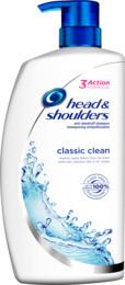 Head & Shoulders Classic Clean skælshampoo 1000 ml
