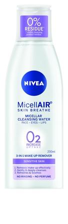 Nivea Essentials Micellar Water Sensitive 200 ml