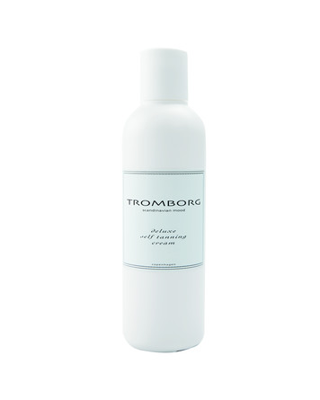 tromborg deluxe self tanning cream