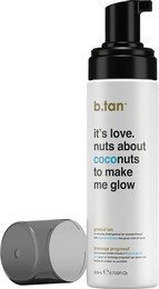 b.tan Tanopbyggende Mousse It's Love. Nuts About Coconuts to Make Me Glow