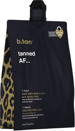 b.tan Pro Spray Mist Tanned AF