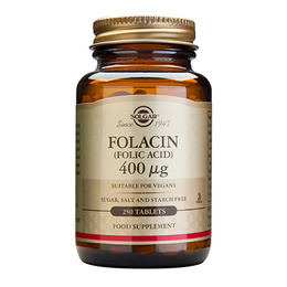 Folsyre 400 mcg (Folacin) 250 tab