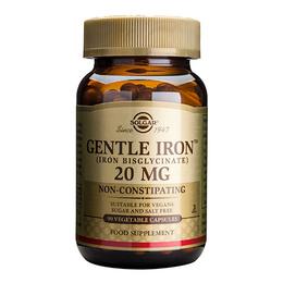 Jern skånsom 20 mg 90 kap