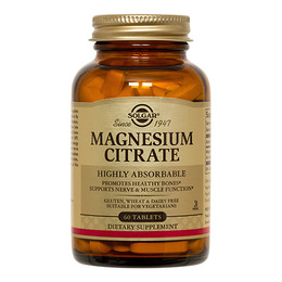 Solgar Magnesium Citrat mg