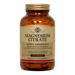 Solgar Magnesium citrat 200mg  120 tabl.