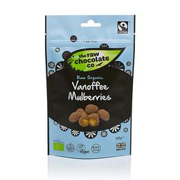 The Raw Chocolate Company Morbær Vanoffe m. rå chokolade Øko 125 gr