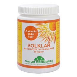 Natur Drogeriet Sol-Klar 60 kapsler