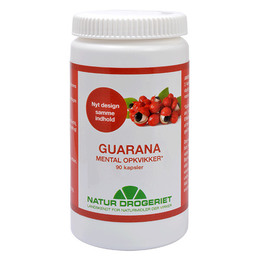 Natur Drogeriet Guarana 500 mg 90 kaps.