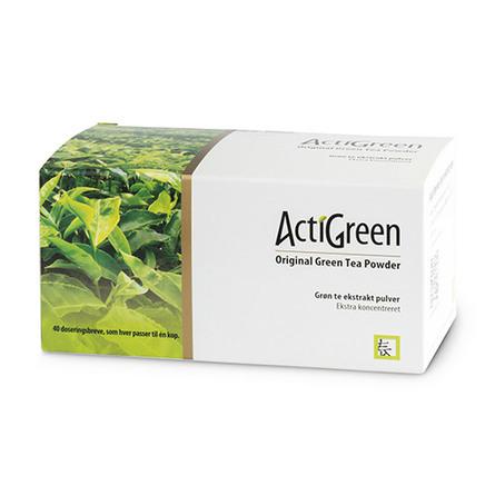 Grønt te Grøn Te Ekstrakt 40 breve